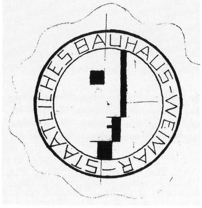 Design Luminy Bauhaus-Logo-Schlemmer-1922 Chronologie Bauhaus Chronologies    Design Marseille Enseignement Luminy Master Licence DNAP+Design DNA+Design DNSEP+Design Beaux-arts