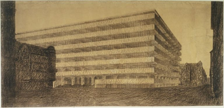 Design Luminy ludwig-mies-van-der-rohe-concrete-office-building-project-berlin-germany-exterior-perspective-1923-768x371 Ludwig Mies van der Rohe – Thèses de travail – 1923 Références Textes  Mies van der Rohe   Design Marseille Enseignement Luminy Master Licence DNAP+Design DNA+Design DNSEP+Design Beaux-arts