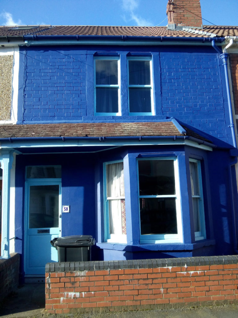 Design Luminy My-Blue-House-58-Foxcote-Road-Southville-768x1024 Adèle Berges - Bristol, Faculty of Art, Media and Design BRISTOL, Faculty of Art, Media and Design Séjours Erasmus  Adèle Bergès   Design Marseille Enseignement Luminy Master Licence DNAP+Design DNA+Design DNSEP+Design Beaux-arts